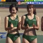 TBS炎の体育会TVで青山学院大学陸上部の食い込み陸上ブルマーがエロ過ぎな件