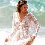 美人スーパーモデル「ミランダ・カー」のパンツが透けて陰毛が丸見えだと話題に