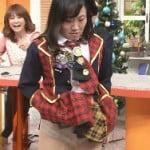 【閲覧注意】日テレのスッキリ!!でAKB衣装のキンタローがパンモロする放送事故