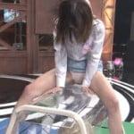 ビートたけしの親切な人が5千万貸してくれないかTVでエロいAV女優のスケスケ跳び箱