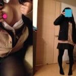 18歳現役JKの彼女に制服を着せてからオッパイポロリさせる素人写メ撮りうp