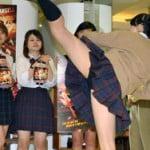 JKのパンチラだらけの映画「ハイキック・エンジェルス」ニコ生で公開