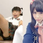 フジテレビで女子中学生のAKB西野未姫がリアクション芸でパンチラする放送事故