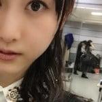紅白控室の写真に乃木坂46生駒里奈ちゃんの下着姿が写り込む