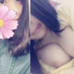Twitter裏垢で可愛い19歳♀が半裸でむっちりおっぱいポロリ自撮り