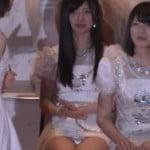 第7回AKB48選抜総選挙で16位武藤十夢のパンツ見える