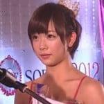 SOD大賞2012で現役高専生として話題になった19歳の紗倉まなが最優秀女優賞に輝く