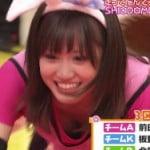 正月番組でAKB48の前田のおっぱい見えたwwwwwwwww