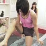 AKB48が熱湯風呂でエロいM字開脚の割れ目見えた!