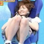 AKB48小嶋陽菜が放送中に股間の生パンティからモロマンしてお宝キャプ祭りに