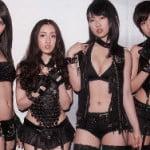 AKB48のダンスユニットDiVAのセクシーなボンテージ風衣装がエロス