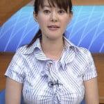 NHK沖縄の竹中知華アナウンサー、巨乳過ぎて放送事故寸前に