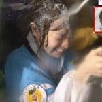 ネオスポの紺野がおっぱい揺れまくり谷間見せまくり顔面ぶっかけ白濁液シャワーでエロ過ぎた件