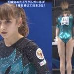 世界体操で16歳のロシア美少女ヴィクトリア・コモワの喰い込みが最強すぎる