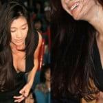 篠原涼子が巨乳化したおっぱいをアンフェア舞台挨拶で見せつける