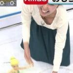 テレビの生放送中に女子アナ徳重杏奈の乳首が映るハプニング