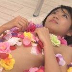 番組企画で大阪日本橋のアイドルが貧乳セミヌードに挑戦