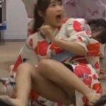 ドッキリのTV番組でNMB48渋谷凪咲が浴衣でパンツ丸見えになる放送事故
