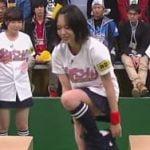 千葉テレビのバッチこーい!でAKB48小田えりながお着替え白パンチラ