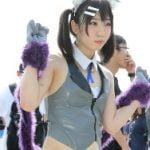 c94夏コミでプリズマ☆イリヤの美遊コスプレイヤーが濡れマンスジ晒す