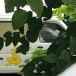 西濃運輸の男女が車内でフェラをしている最中を高校生に盗撮される