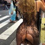 渋谷センター街のハロウィンで露出女のコスプレが完全に一線を超えてしまう