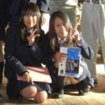 愛知県立春日井西高等学校の女子生徒の企業訪問時に撮られたパンチラが発掘される
