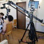 最先端なVR使ったAVエロ動画の撮影現場が凄いことに