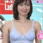日テレ夏のブラジャー特集でモデル福田麻衣のメッシュブラが艶めかしい