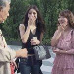 じゅん散歩でエロデカ乳輪したAV女優の白石茉莉奈が偶然通りかかる