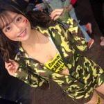 AV女優の奏音かのんが渋谷ハロウィンに参加してパリピ男におっぱいを揉まれてしまう