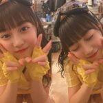 AKB48山田杏華がイベント前に楽屋でパンチラ撮影してしまうハプニング