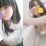 美人な東京住み22歳お姉さんが巨乳生おっぱい丸出しでエロいヌード自撮り