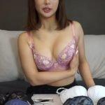 元AKB48平嶋夏海がYouTubeで巨乳ブラジャー並べて試着しだす