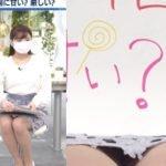 BSテレ東日経プラス10サンデーで角谷暁子アナがエッチな黒パンツパンチラ