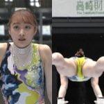 第76回全日本体操選手権で平岩優菜がレオタードマンスジ晒してしまう