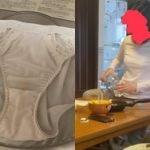 JK妹が洗濯に出した汚れた下着を撮影する盗撮変態兄が現れる
